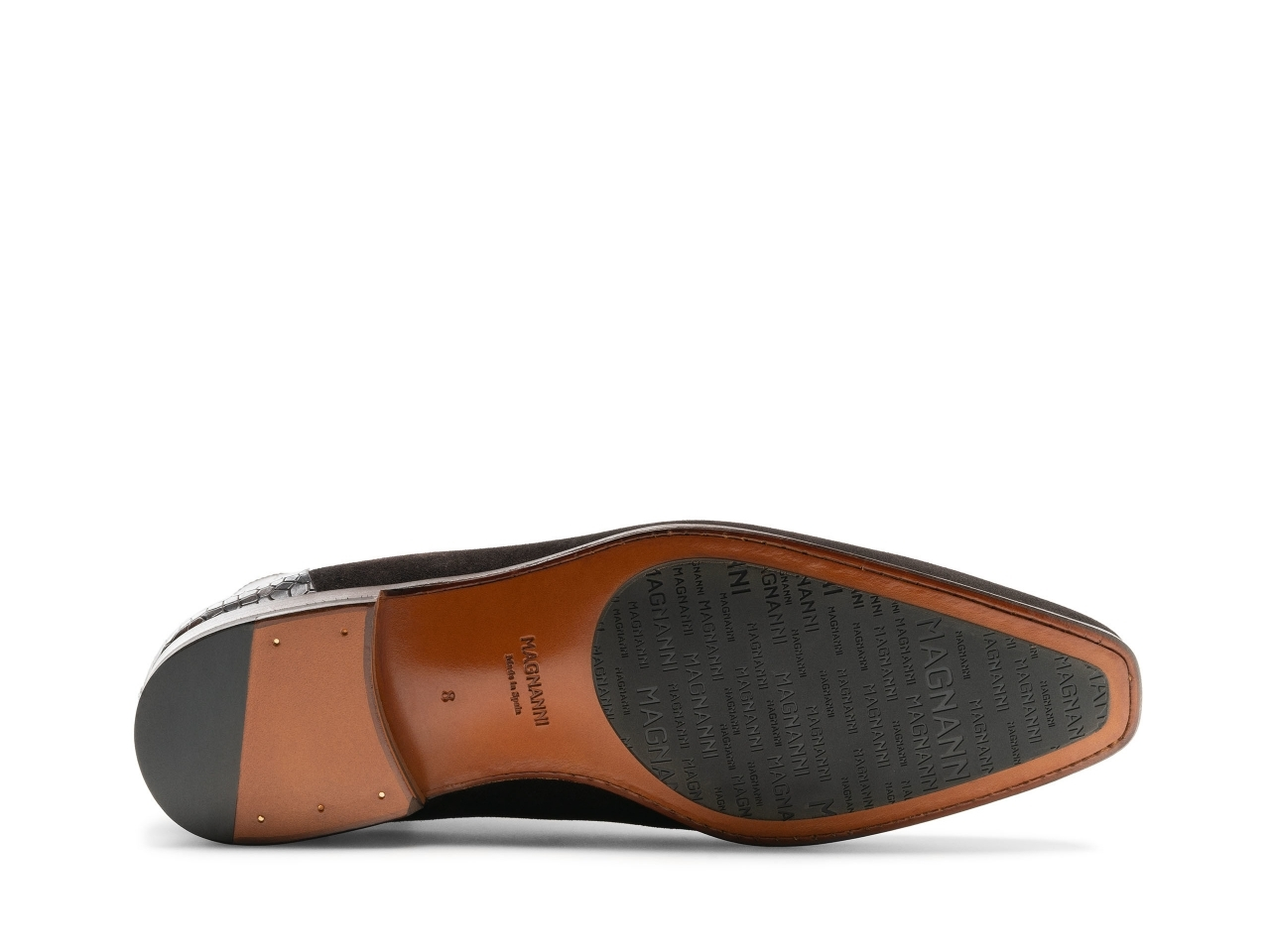 Sole of the Renley Brown Suede