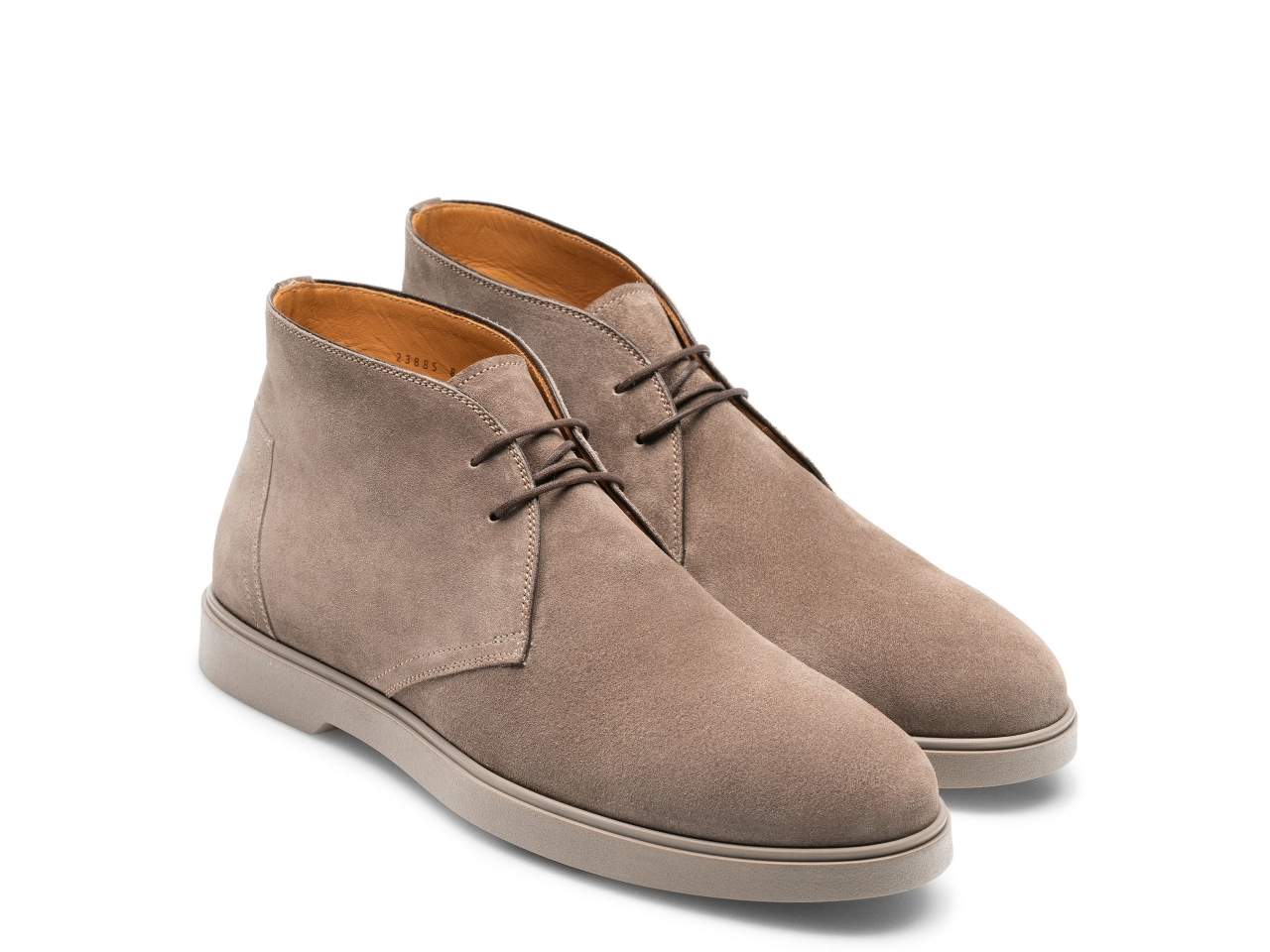 Pair of the Duran Taupe Suede