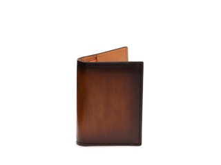 Outside of the Card Fold Wallet