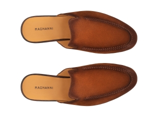Top Down of the Harrison Cognac Suede