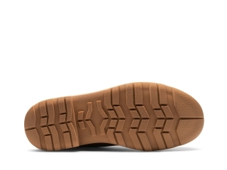Sole of the Luther Cognac Suede